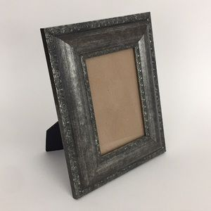 Home Photo Frame Muted Gray Patterned